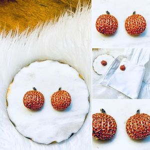 🦋2/$10 3/$15 4/$18 5/$20 Vintage Pumpkin Clip-Ons